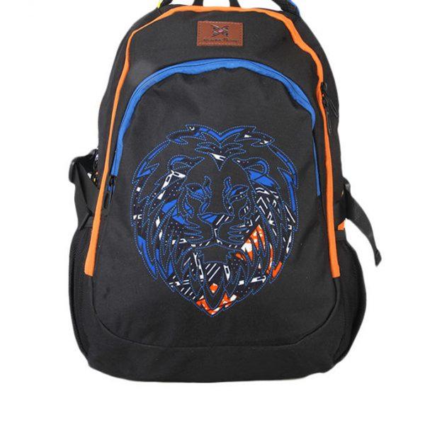 Blue Ankara Oju Backpack