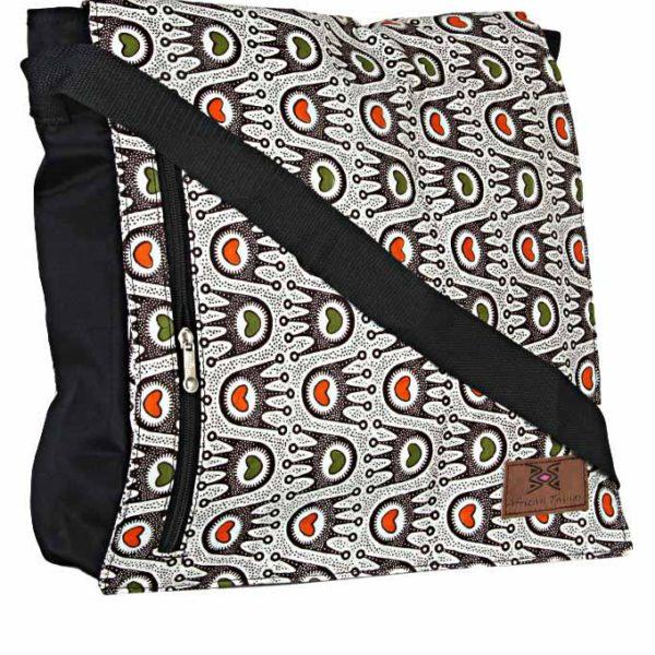 African Things Ankara Crown shoulder bag Side view