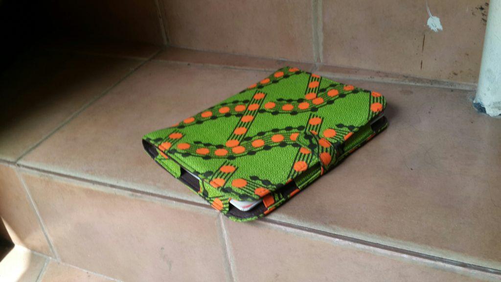 Green Ankara Ipad case
