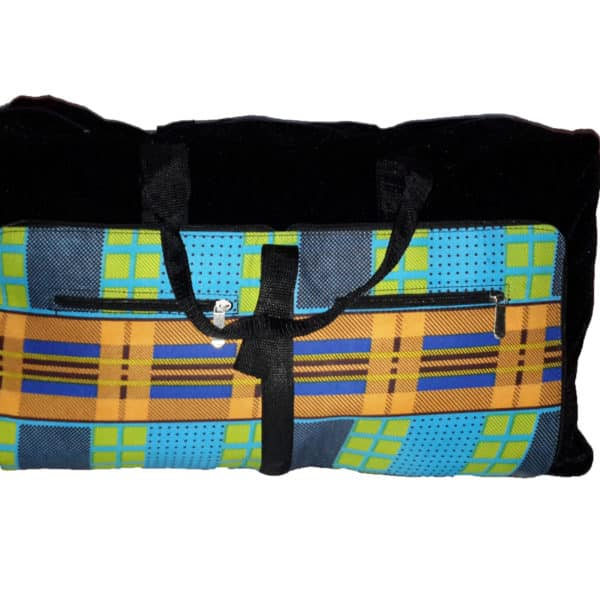African things collapsible bag Open