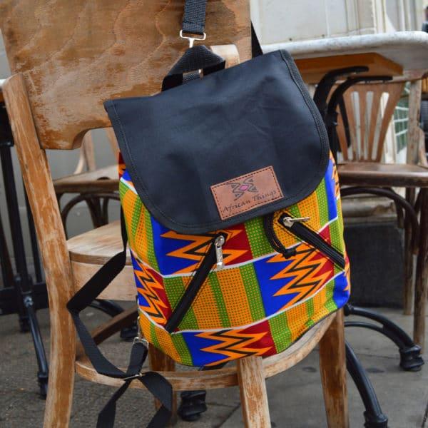 Kente Ada backpack
