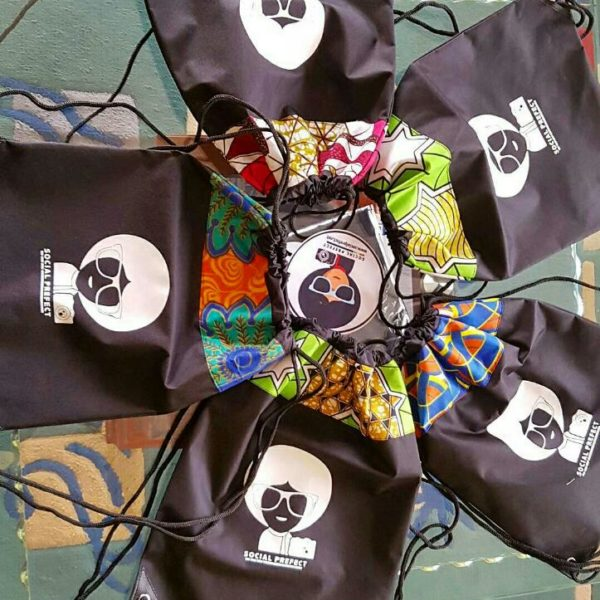 Social Prefect Travel String bags
