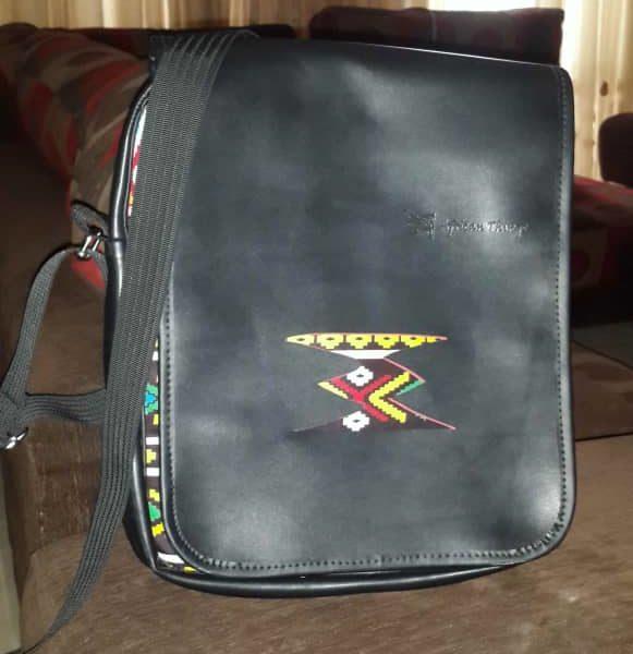 African Things Logo side bag