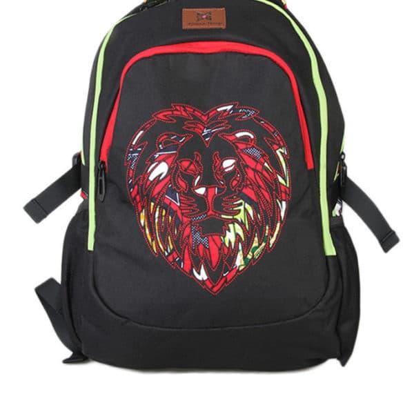 African Things Oju Series Red Laptop Backpack