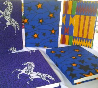 African Things Ankara Notebooks