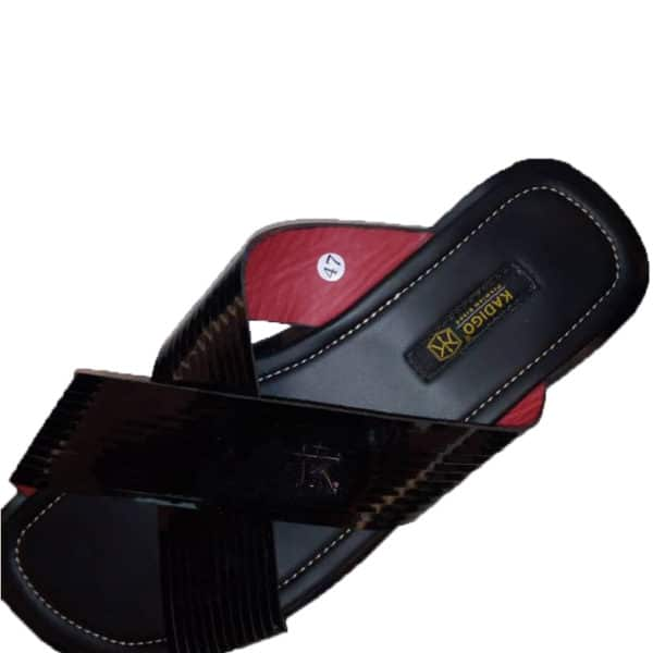 K black slippers
