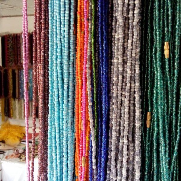 African waist beads