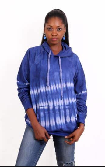 Adire hoodie
