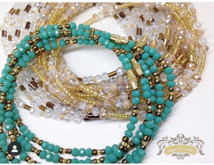 African waist beads elekedi