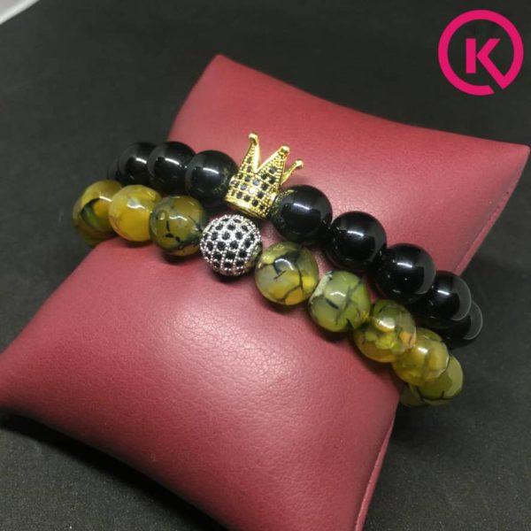 gemstone bracelets with accessories