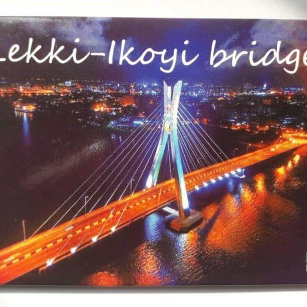 Lekki-ikoyi bridge fridge magnet