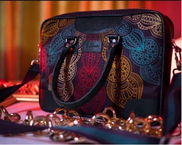 African Print Ankara laptop bag