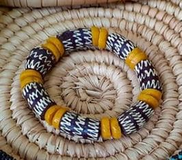 African stone beads