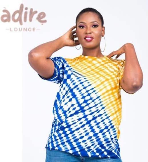 Adire lounge female T-shirt