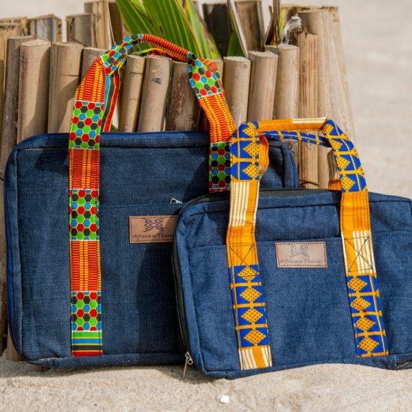 jeans laptop bag