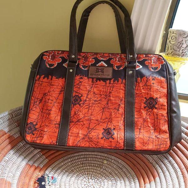 African Things Deji Laptop bag