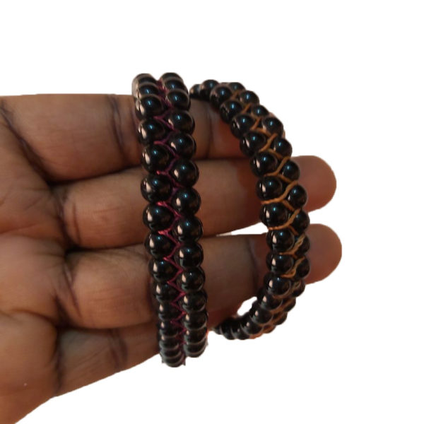 black bead bracelets