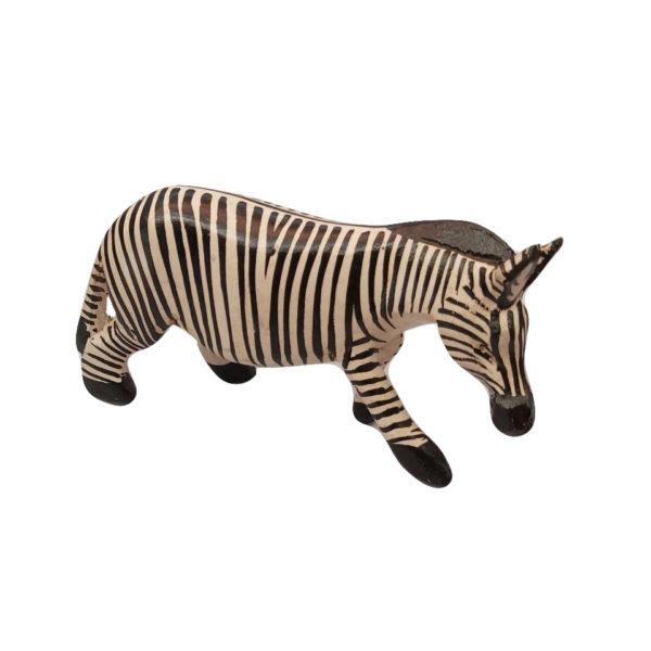 African Zebra animal sculpture